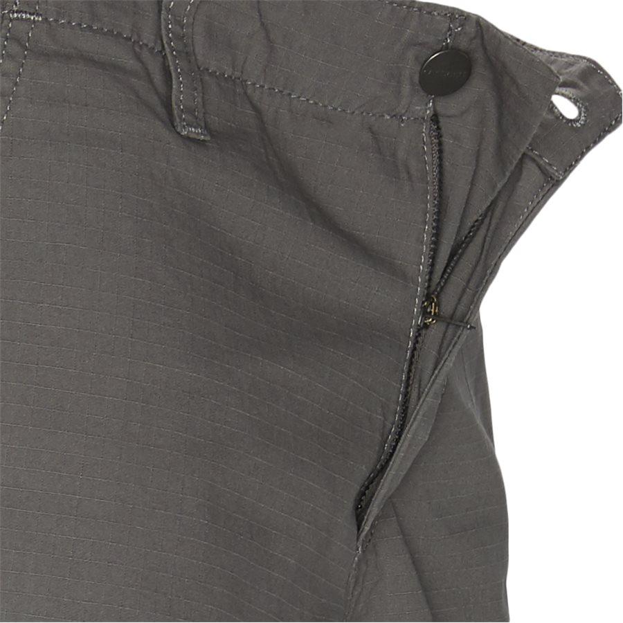 REGULAR CARGO PANT-I015875 - Cargo Pants - Bukser - Regular - AIR FORCE GREY RINSED - 4